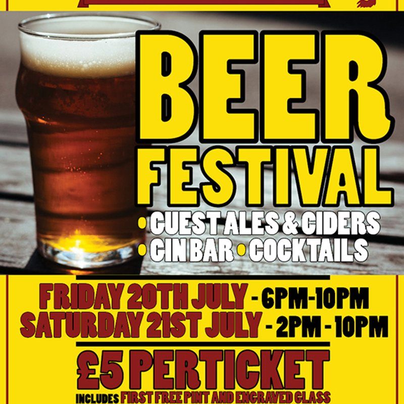 Middlesbrough RUFC's 5th Annual Beer Festival