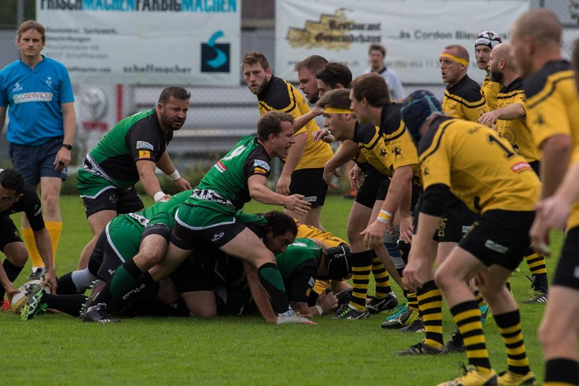 54 - 7 Bishops run in 8 tries in Schaffhausen