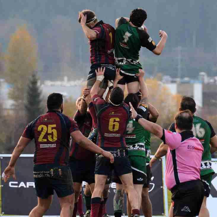 Sieg gegen Tabellenführer Rugby Club Würenlos