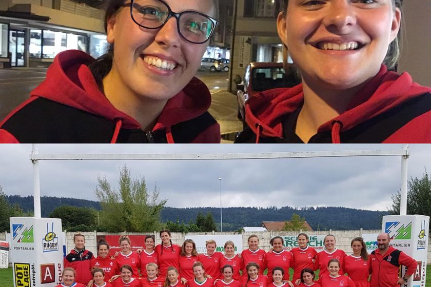 Swiss Women's National Rugby Team _ Cindies Representing!!
