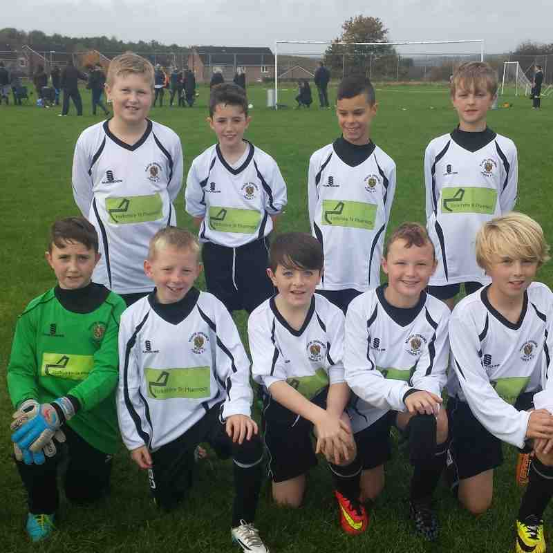 Our New Away Kit, Thanx Yorkshire St Pharmacy.