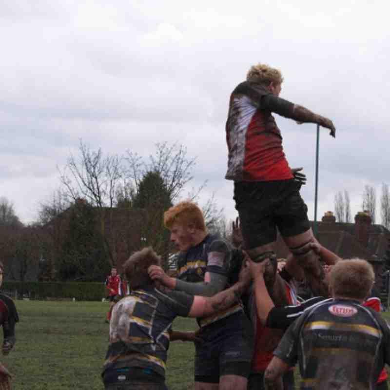 Worcester V Walsall 2012