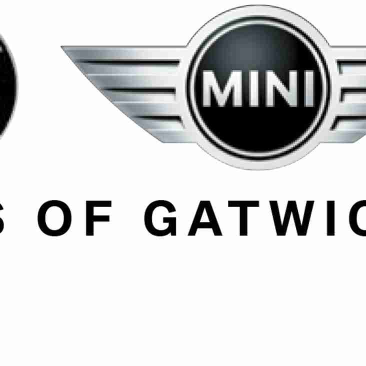 Vines of Gatwick - renew sponsorship