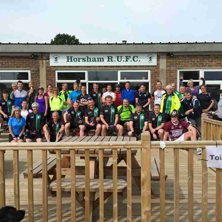 Fundraising for the new Changing Rooms