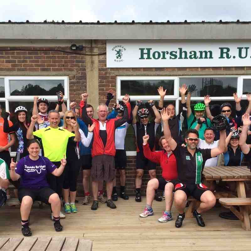 Horsham Rugby Club Bike Ride 2015