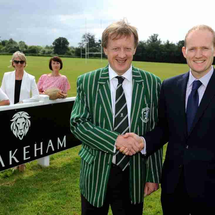HORSHAM ANNOUNCES NEW MAIN SPONSOR