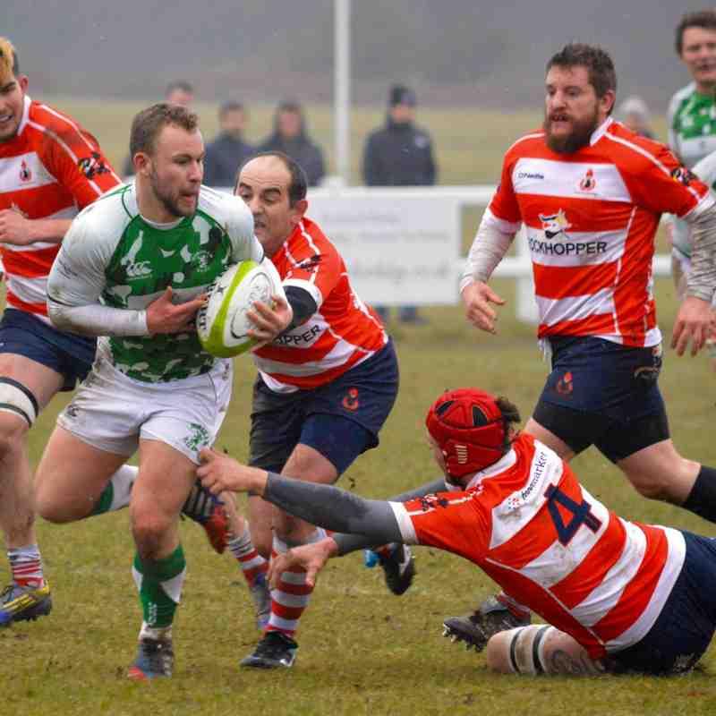 Horsham 1st XV v Crowborough - Feb 2017