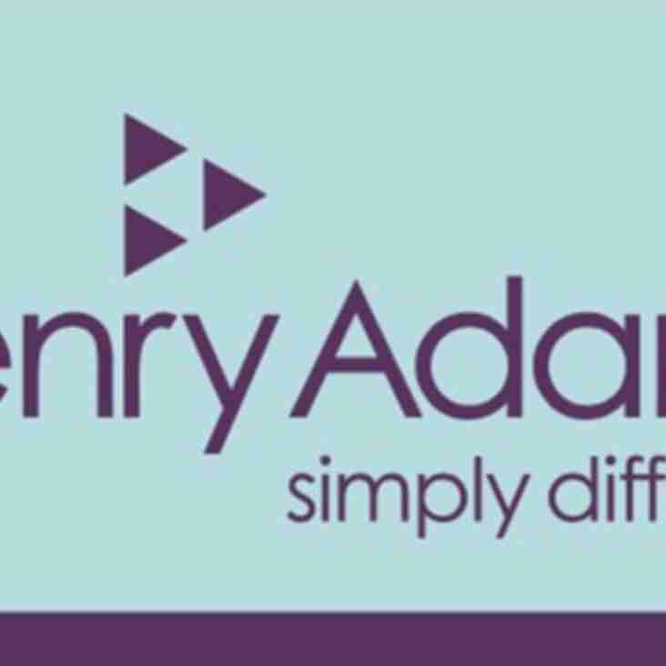 Henry Adams (Horsham) - renew sponsorship