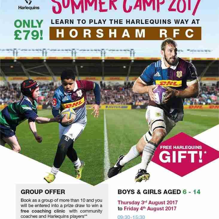 Harlequins Summer Camp 2017