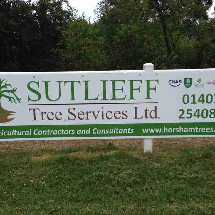 Sutlieff Tree Services Limited - new sponsor