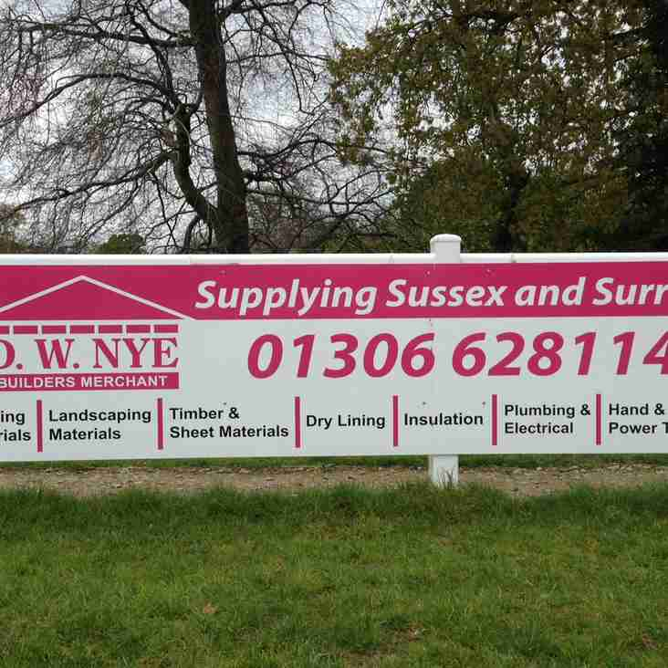 D.W. Nye Ltd - renew sponsorship