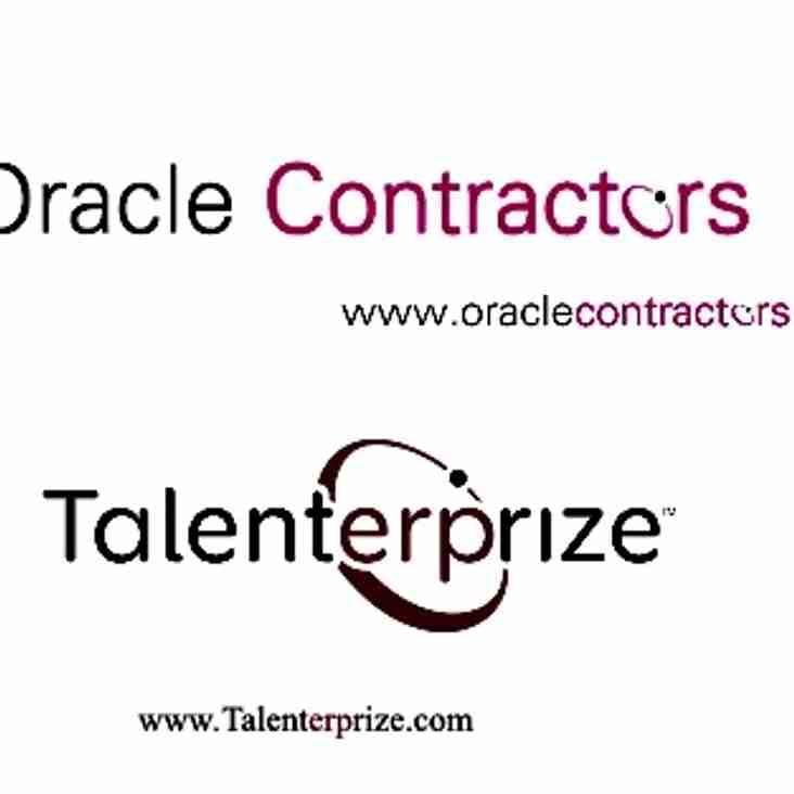 Oracle Contractors and Talenterprize - renew sponsorship