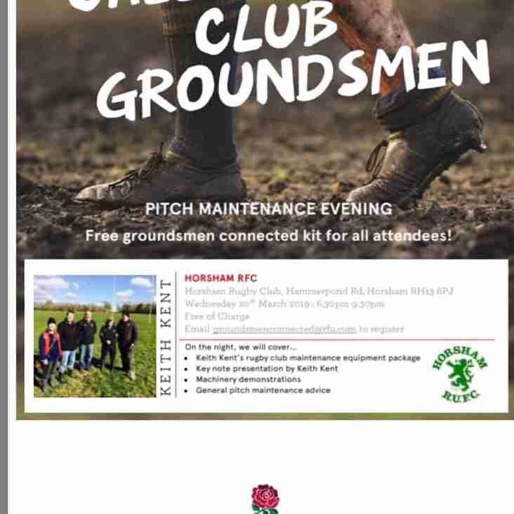 Calling all budding Groundsmen