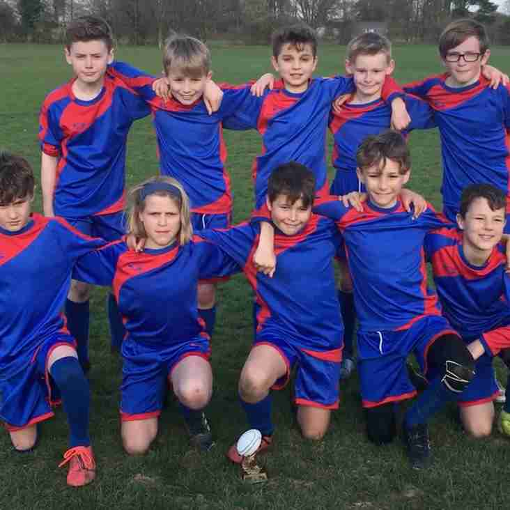 Successful Horsham Primary Schools Tag Tournament held at HRUFC