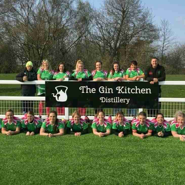 The Gin Kitchen - New club and ladies team sponsor