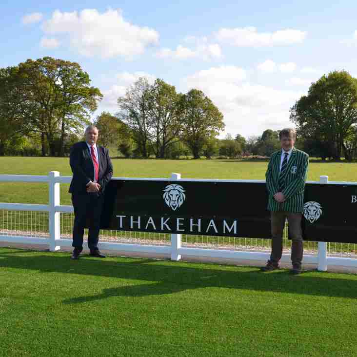 Thakeham continue to back grass roots rugby