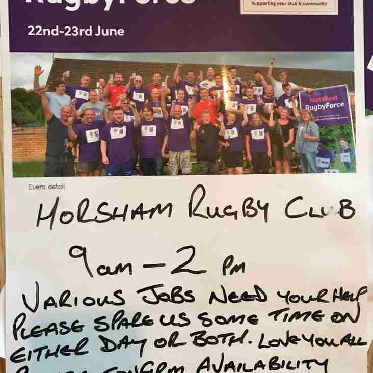Nat West Rugby Force Weekend
