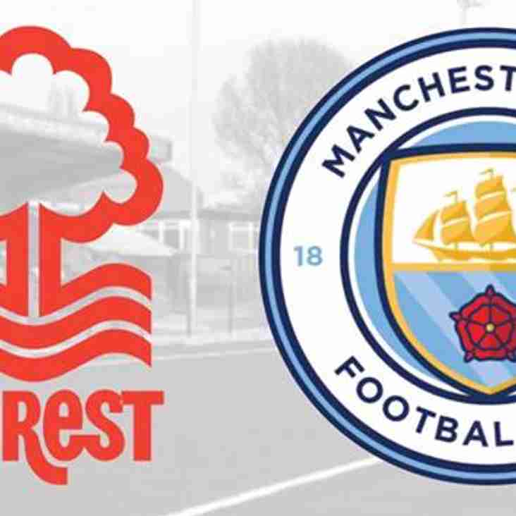 GAME POSTPONED - Nottingham Forest U15 vs. Manchester City U15