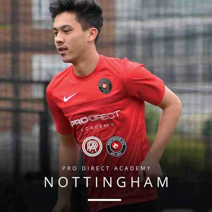 Pro:Direct Academy | Nottingham - Upcoming Trial Dates