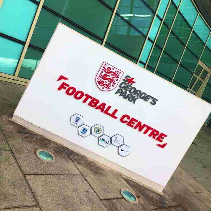 Academy Skipper Takes Part in PDA Fixture at St. George's Park