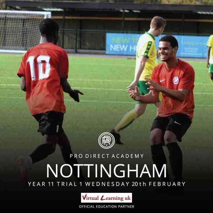 First Trial Approaching! Pro:Direct Academy | Nottingham