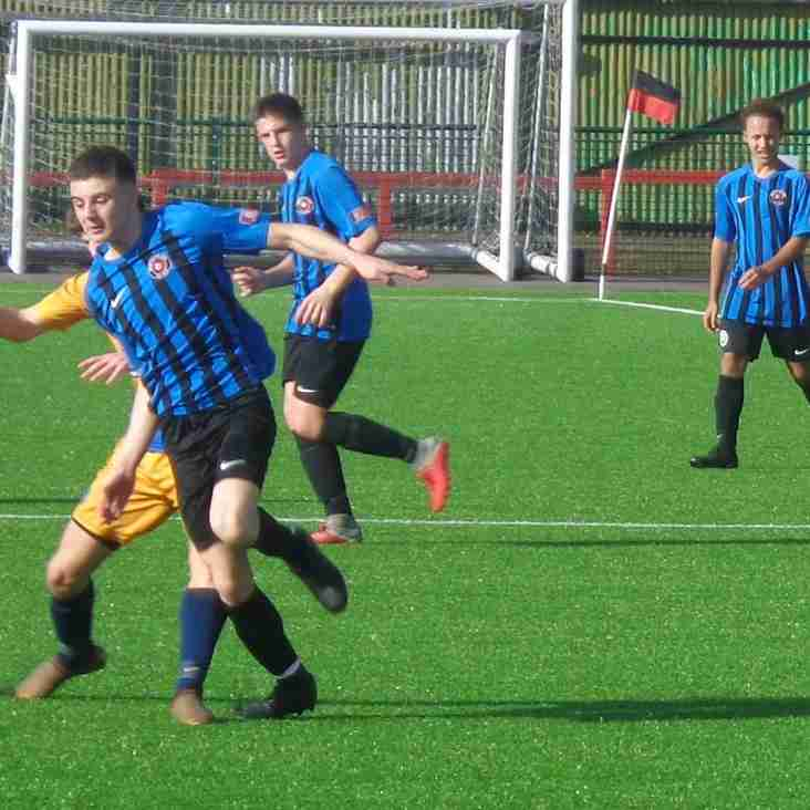 Match Report | Eastwood CFC U18 0-4 Grantham Town U18