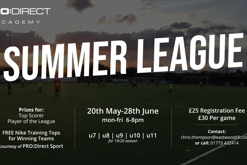 Pro:Direct Academy | Nottingham Launch 2019 Summer League