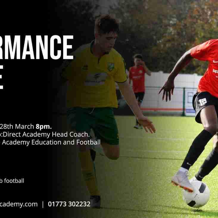 Pro:Direct Academy | Nottingham launches FREE Elite Performance Centre! (Ages 15-18)