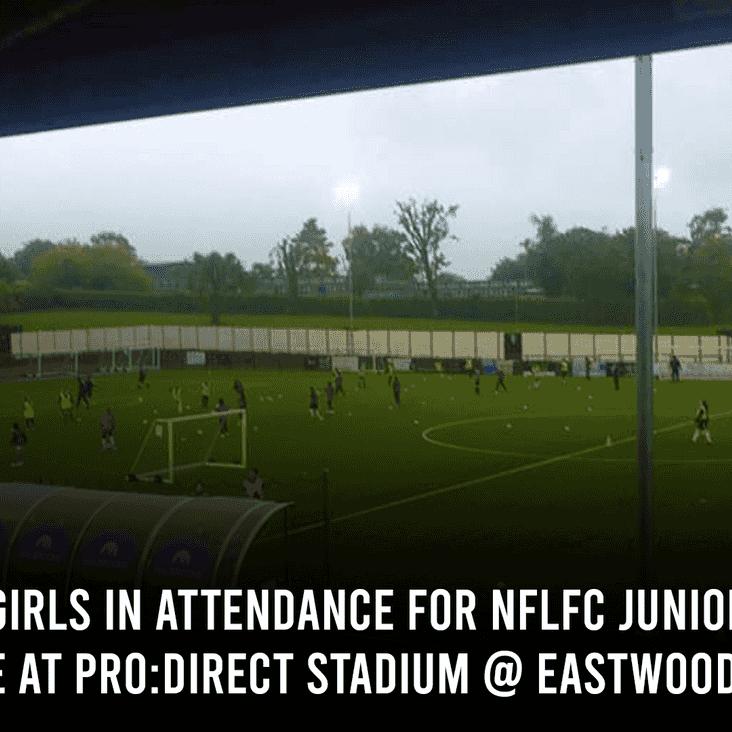 NFLFC Juniors | Over 200 Junior Girls in Attendance at Eastwood CFC