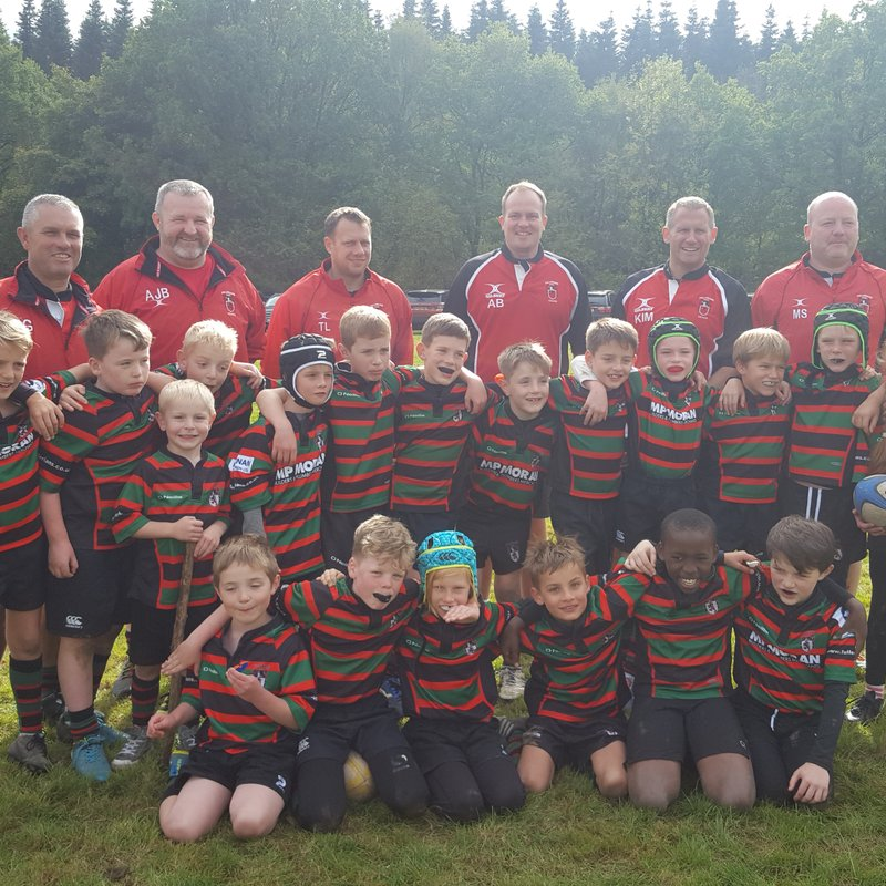 Fullerians RFC U9's attend Amersham & Chiltern Tournament