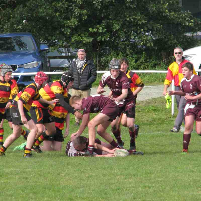 U14s Rossendale Vs Southport 24-09-17