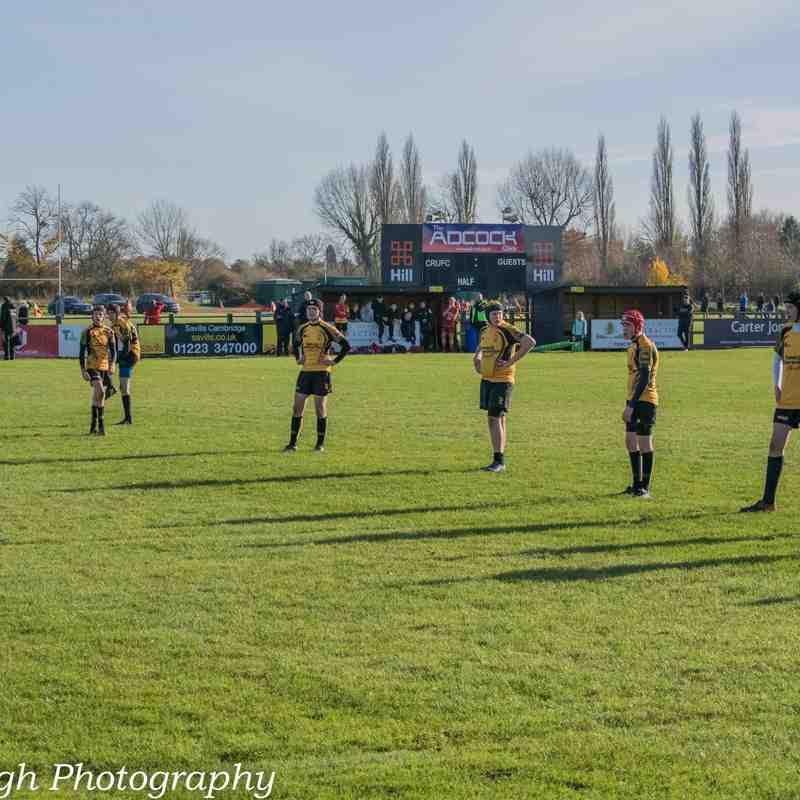 U15's Away Game Cambridge 19-11-17