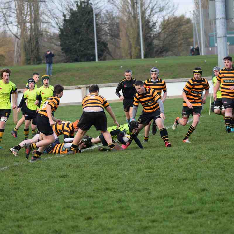 Bury U16 vs Southwold 25/11/18
