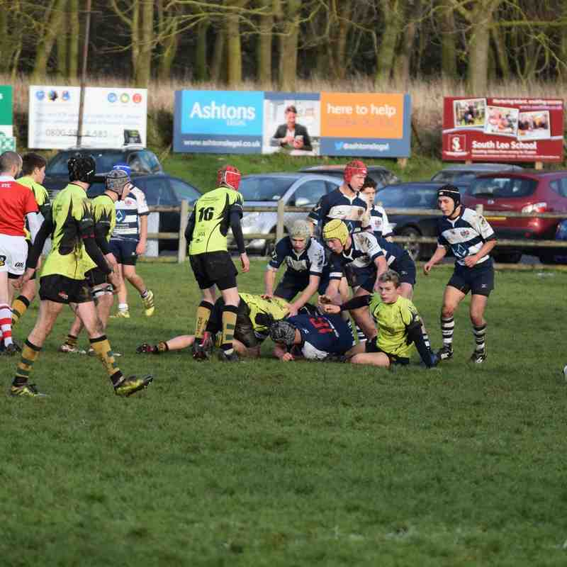 Bury U16's vs Sudbury 16/12/18