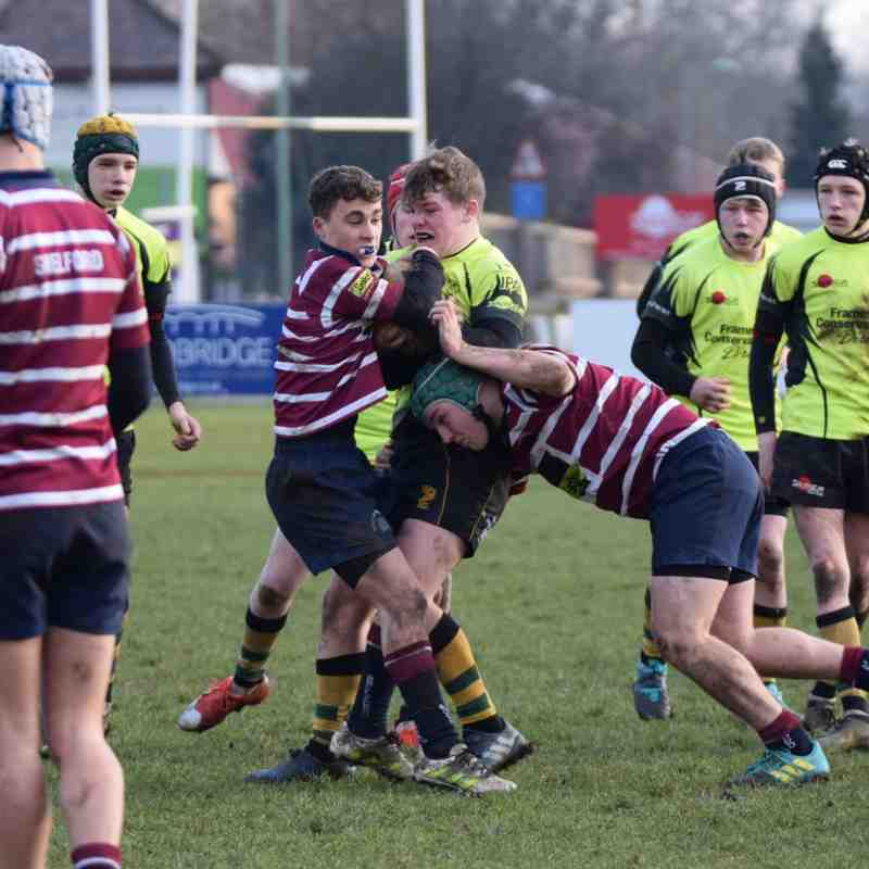 Bury U16 vs Shelford 20/01/19