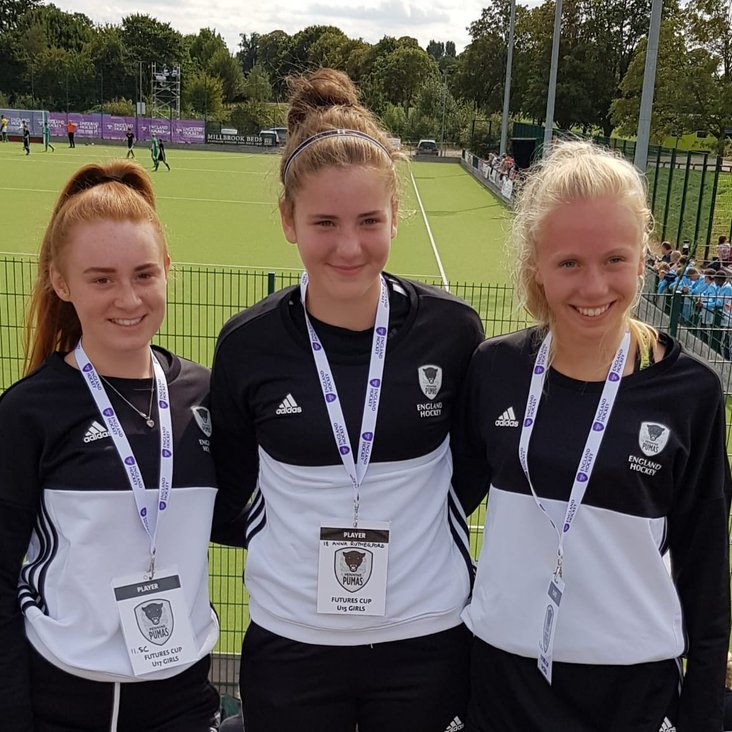 FHC players at  Futures Cup<