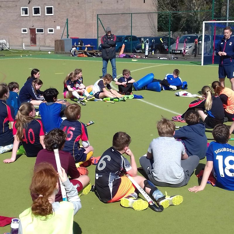 GB international visits Easter Camp