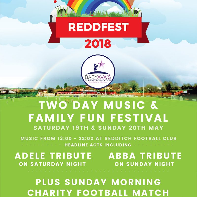 Redditch United to welcome locals of all ages to family festival REDDFEST
