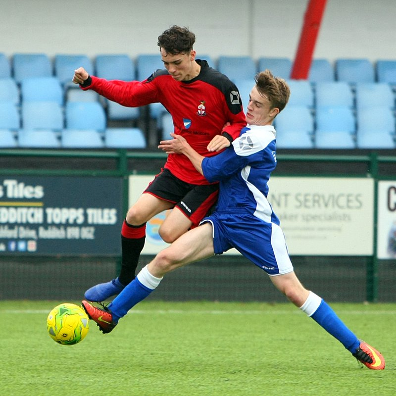 Redditch United Academy celebrates title win