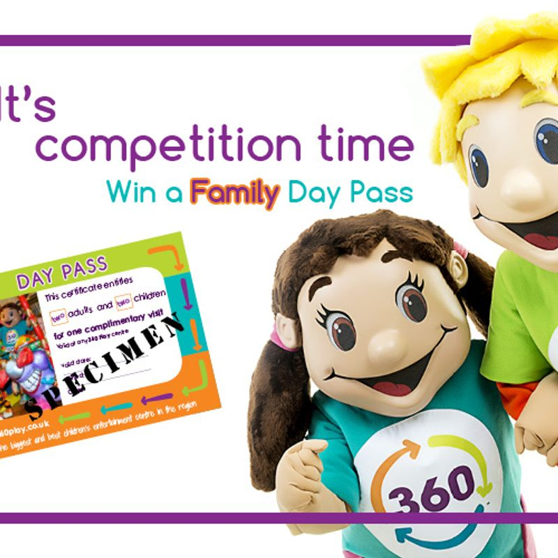 Competition Time: Your chance to win a family day ticket at 360 Play Redditch!