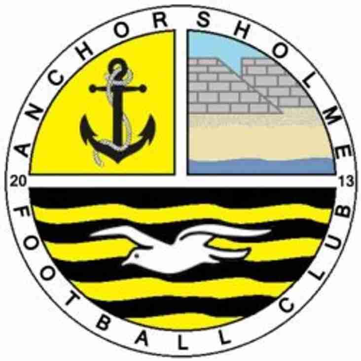 Anchorsholme FC Division 1 Champions