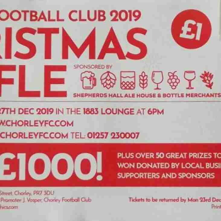 Chorley FC Xmas Draw