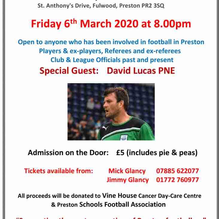 Preston football reunion 2020