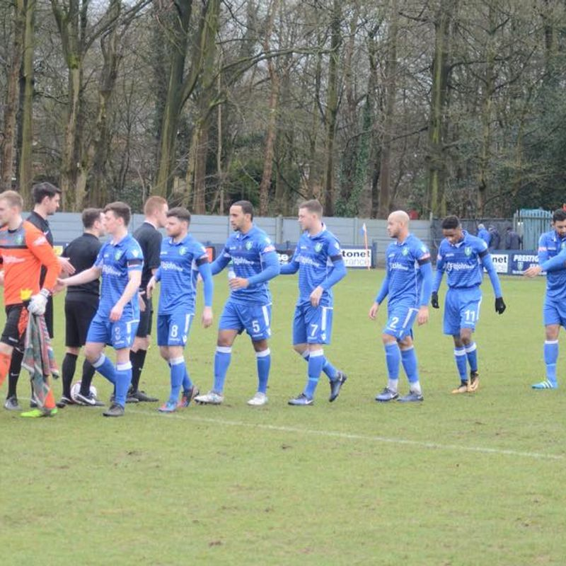 An eventful afternoon of football see's Grove come from behind to draw against Carlton - Kidsgrove Athletic 3-3 Carlton Town