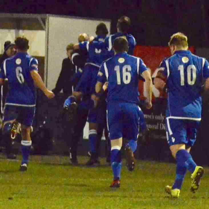 Match Report: Three first half goals the key for Grove as they ease to a victory away from home - Belper Town 1-3 Kidsgrove Athletic