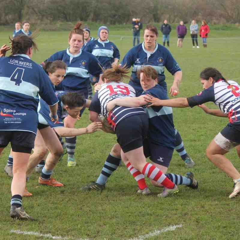 Barnsley Ladies v Bishop Auckland Ladies - 3rd April 2016