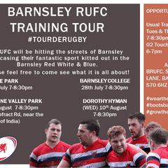 Barnsley RUFC Training Tour