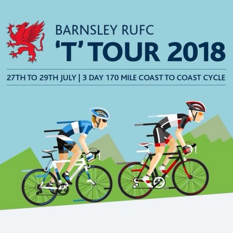 Barnsley RUFC T'Tour 2018, 27th -29th July