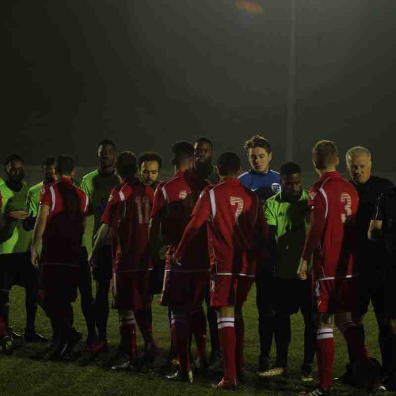 Baldock Town FC 4-0 Enfield Borough FC