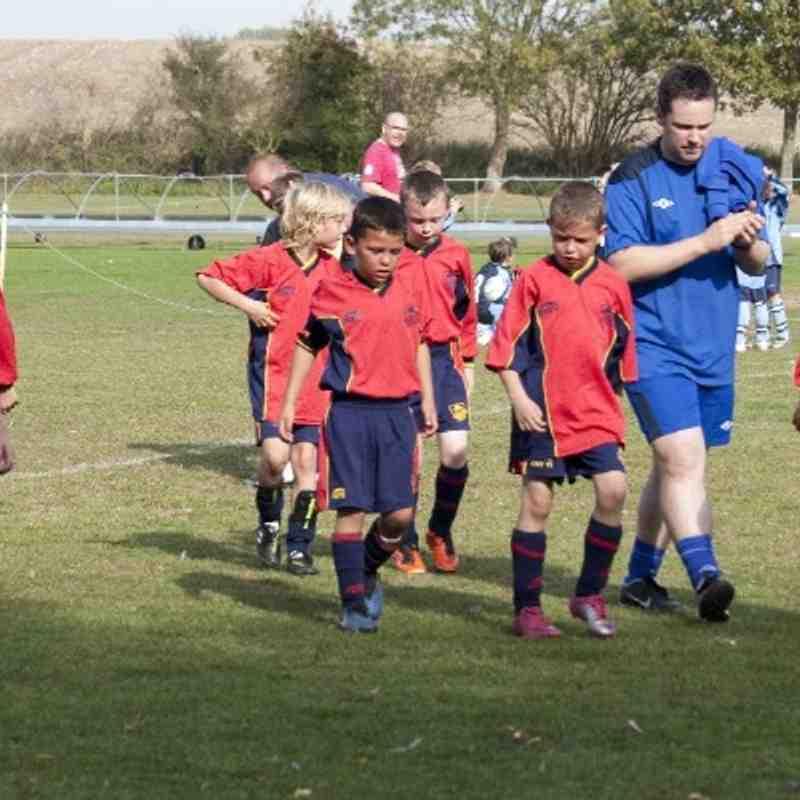 U9 Reds v Lowdham Colts 1st October 2011